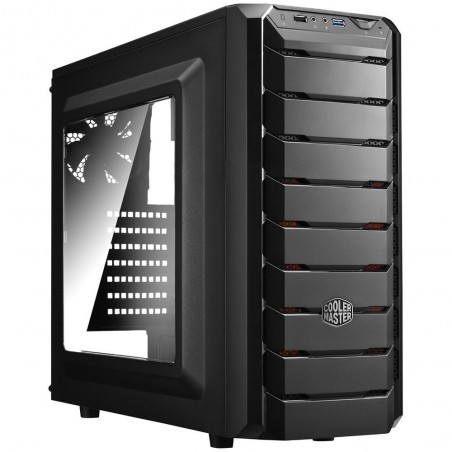 Trooper - Gaming Full Tower Computer Case with Carrying Handle